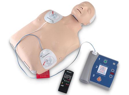 AED defibrillator trainer