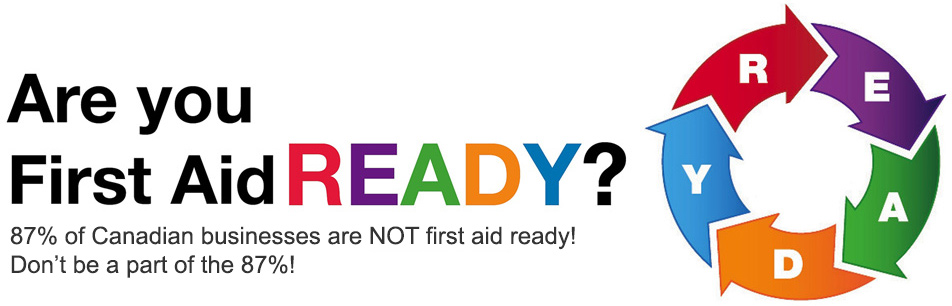first aid ready - group training courses
