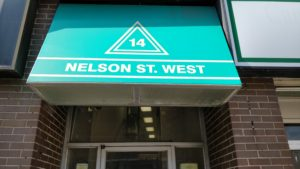 Brampton training facility entrance:
