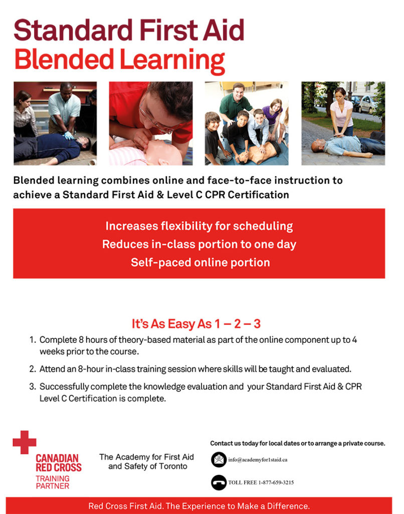 Standard First Aid Course Cpr Certification Training Toronto