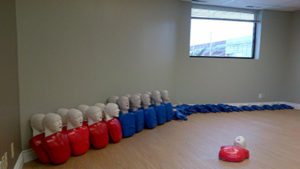 Brampton training facility room: