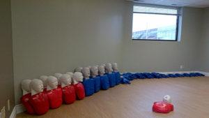 Brampton training facility room: