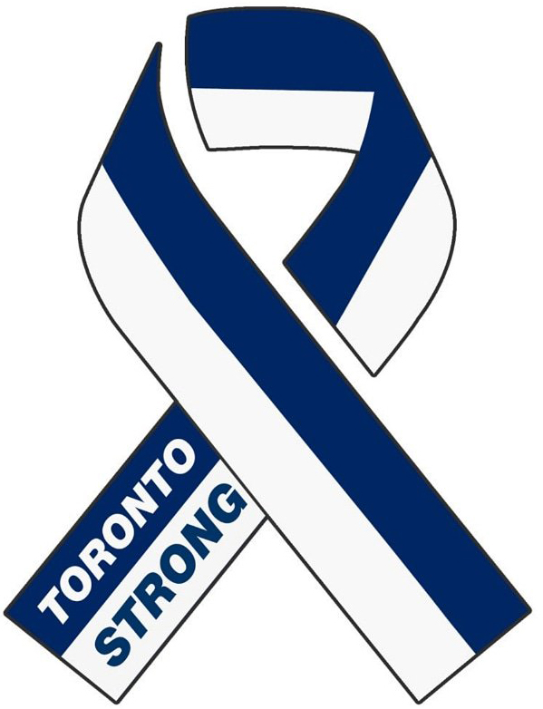 Toronto Strong -In memory of those who lost their lives on April 23, 2018